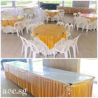 Tables & Chairs Rental