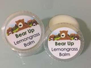 Lemongrass Balm (Repellent, Headache Relief)
