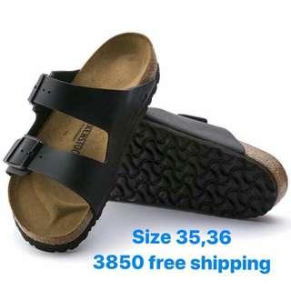 Birkenstock Arizona black leather