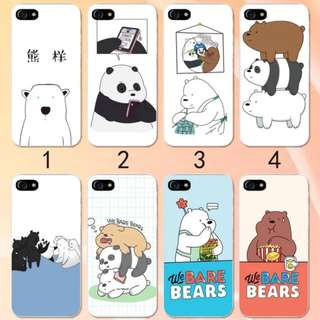 We Bare Bear Phone Cover