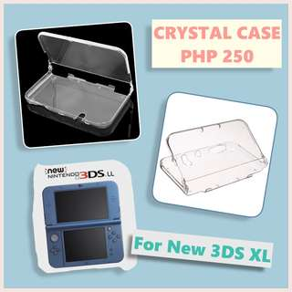 Nintendo New 3DS XL Crystal Case