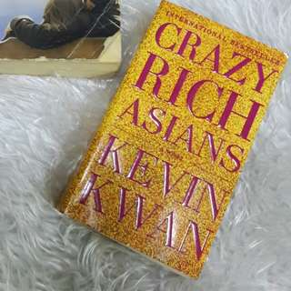 """Crazy Rich Asians"" by Kevin Kwan"