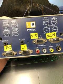 LB PROJECTOR CONTROLLER AV106A