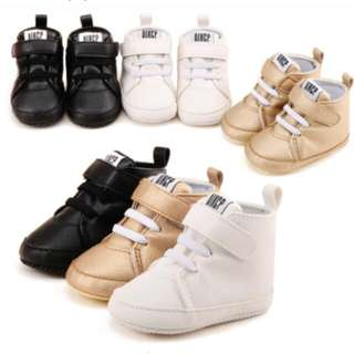 Newborn Boots For Baby Boy Soft Sole Canvas Sneakers Shoes