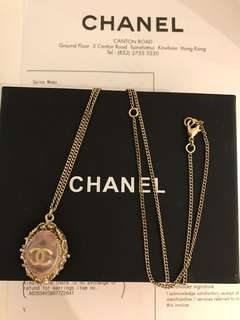Chanel natural stone necklace