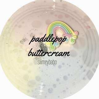 Paddlepop buttercream