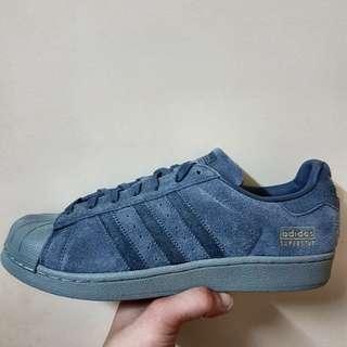 Adidas Superstar Grey Suede Edition