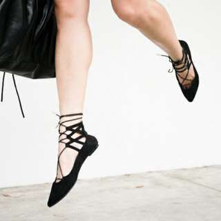 Cotton On Rubi Lace Up Shoes