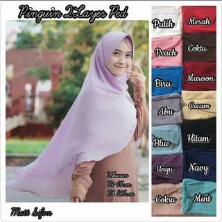 Khimar Penguin 2 layer