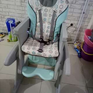 Mama Love high chair tanpa meja tray