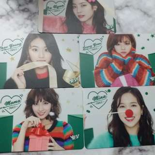 Twice yescard 普通卡