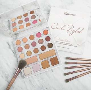 [Authentic] BH Cosmetics Carli Bybel Deluxe Edition - 21 Color Eyeshadow & Highlighter Palette