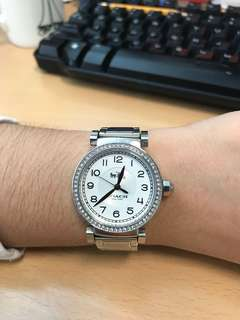 Coach Silver Watch W192