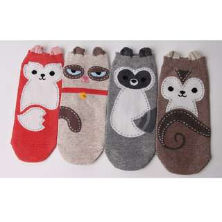 Stitch Animal Socks