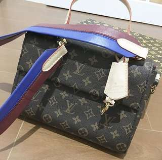 LV BB Clunny Monogram in Blue strap