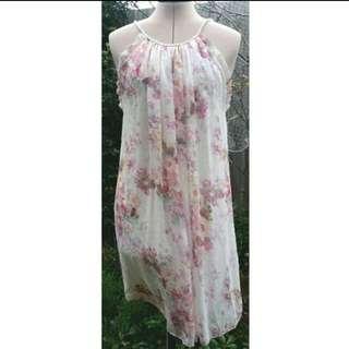 Forever New Floral Pastel Dress