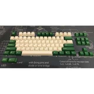 Leopold doubleshot PBT keycap set MX