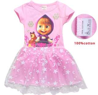 PO Masha & Bear Dress