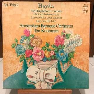 Haydn Harpsichord Concertos Ton Koopman PHILIPS 6514 216