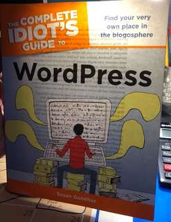 Complete idiots guide to wordpress