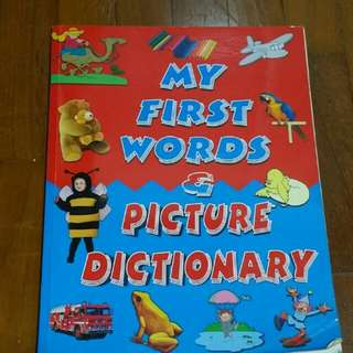 My First Words & Picture Dictionary