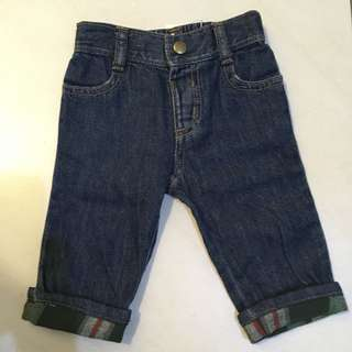 Authentic Gymboree jeans 3-6m