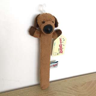 Brown Dog Bookmark
