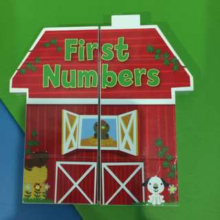Pre-loved first numbers magic book