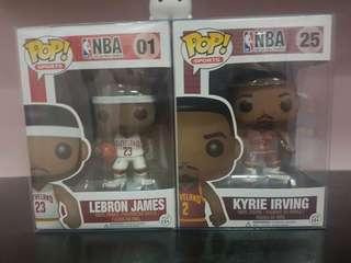 NBA Funko Pops