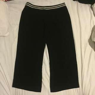 Black work pants m&s
