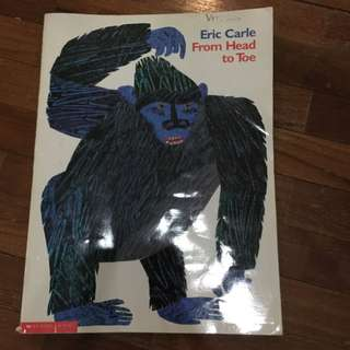 Pre-loved eric carle from head to toe book