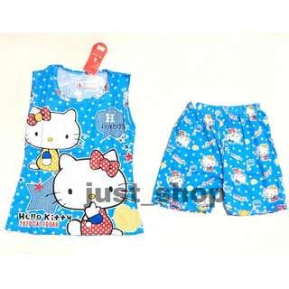 Hello Kitty Twin Terno Sando Short for Kids