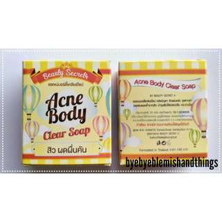 Acne Body Clear Soap