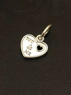 Authentic Pandora You and Me Charm