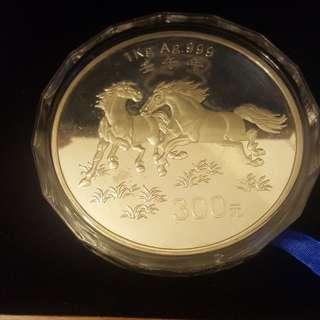 999純銀1kg紀念銀幣