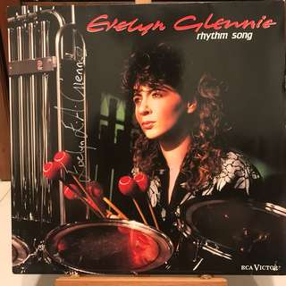 Evelyn Glennie rhythm songs autographed album RCA RL60242