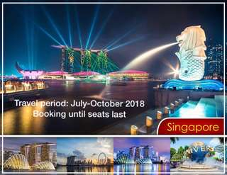 Singapore cheap airfare only!!