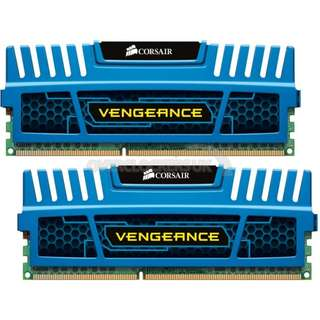 Corsair Vengeance 2 x 4GB DDR3 1600MHZ 9-9-9-24 (Lifetime Warranty Receipt - PCTheme)