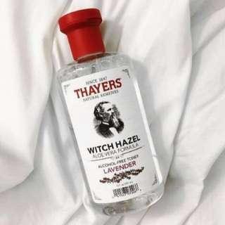 (NEW + FREE POS) Thayers Lavender Toner