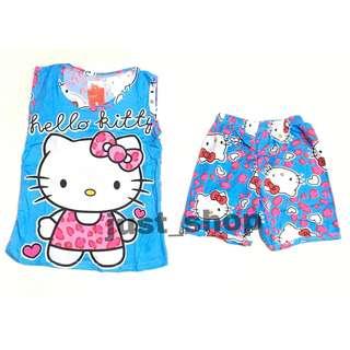 Hello Kitty Cute Terno Sando Short for Kids