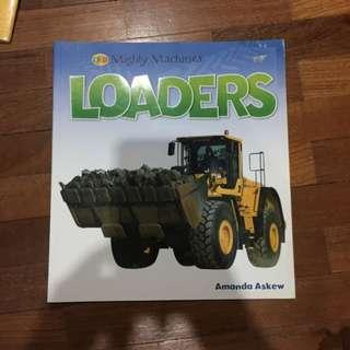 Pre-loved loaders book