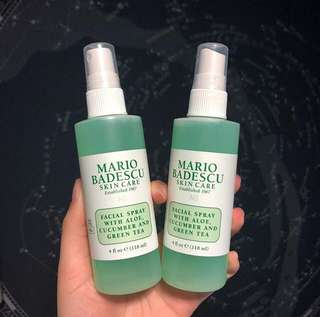 Mario Facial Spray