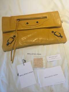 Authentic Balenciaga Clutch