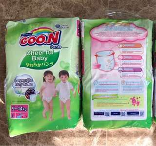GOON Cheerful Baby Pants Size L48, brand new