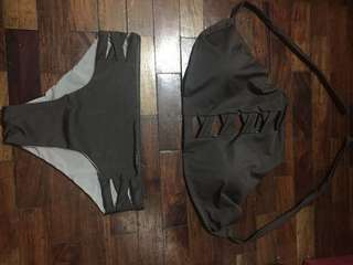 !!!!!!BIRTHDAY SALE!!!!! Two piece (color Gray)