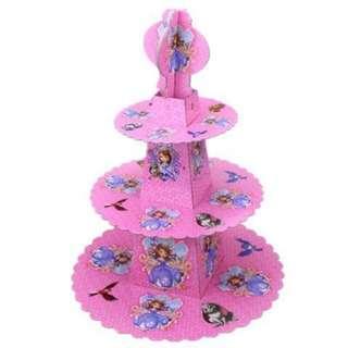 ❤️Cartoon cupcake stand 3 Layer ❤️