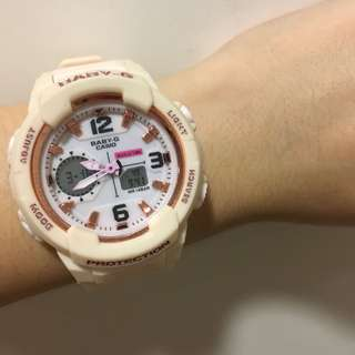 Pastel pink watch