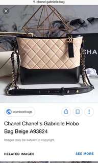 Chanel small size Gabrielle - hold