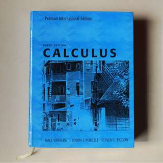 Calculus Ninth Edition - Varberg, Purcell, & Rigdon