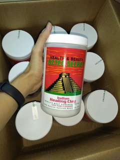 2 lbs Aztec healing clasy